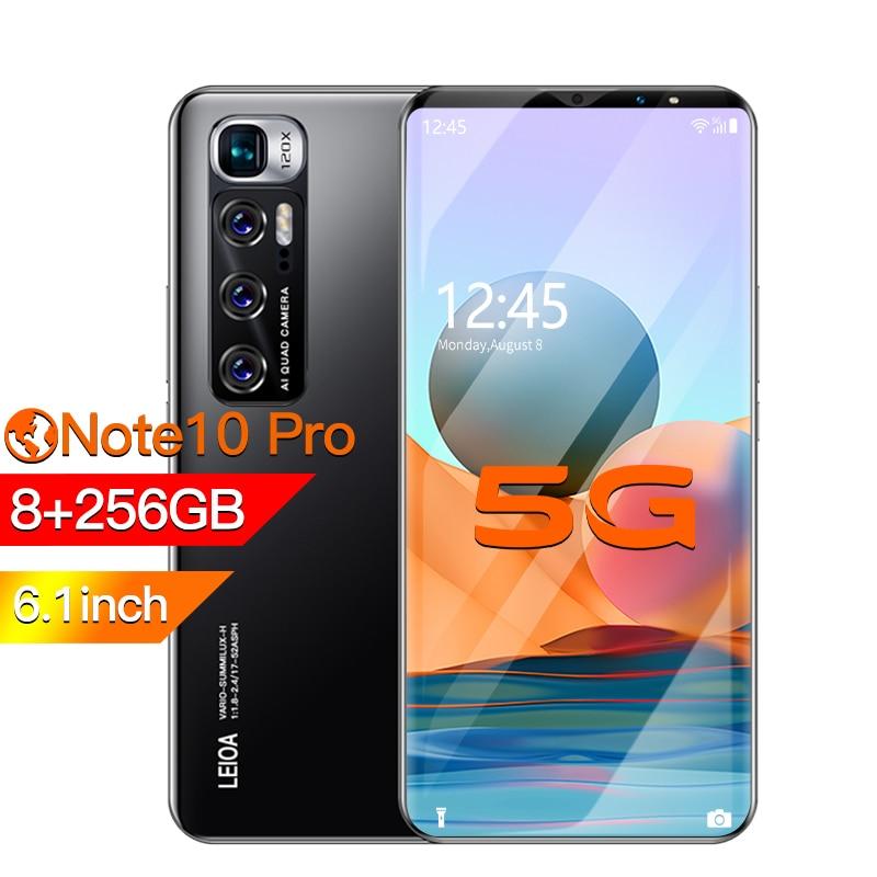 Radmi-teléfono inteligente Note 10 pro, móvil con Android 10, 128 gb, desbloqueado,...