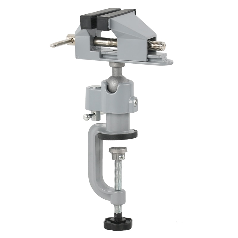 Table Vise Bench Vice Aluminium Alloy 360 Degree Rotating Universal Vise Precise Mini Vise Clamp alloet Dremel accessories