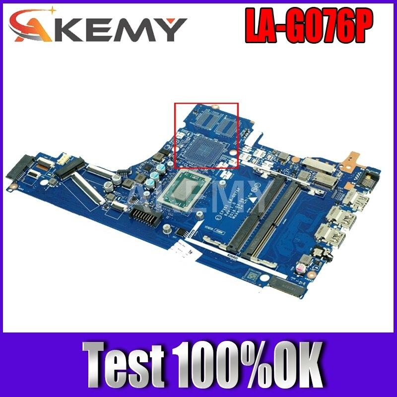 Akemy ل HP 15T-DB 15-DB 15-DX اللوحة المحمول Ryzen 3 2200U CPU L20666-601 L20666-001 EPV51 LA-G076P
