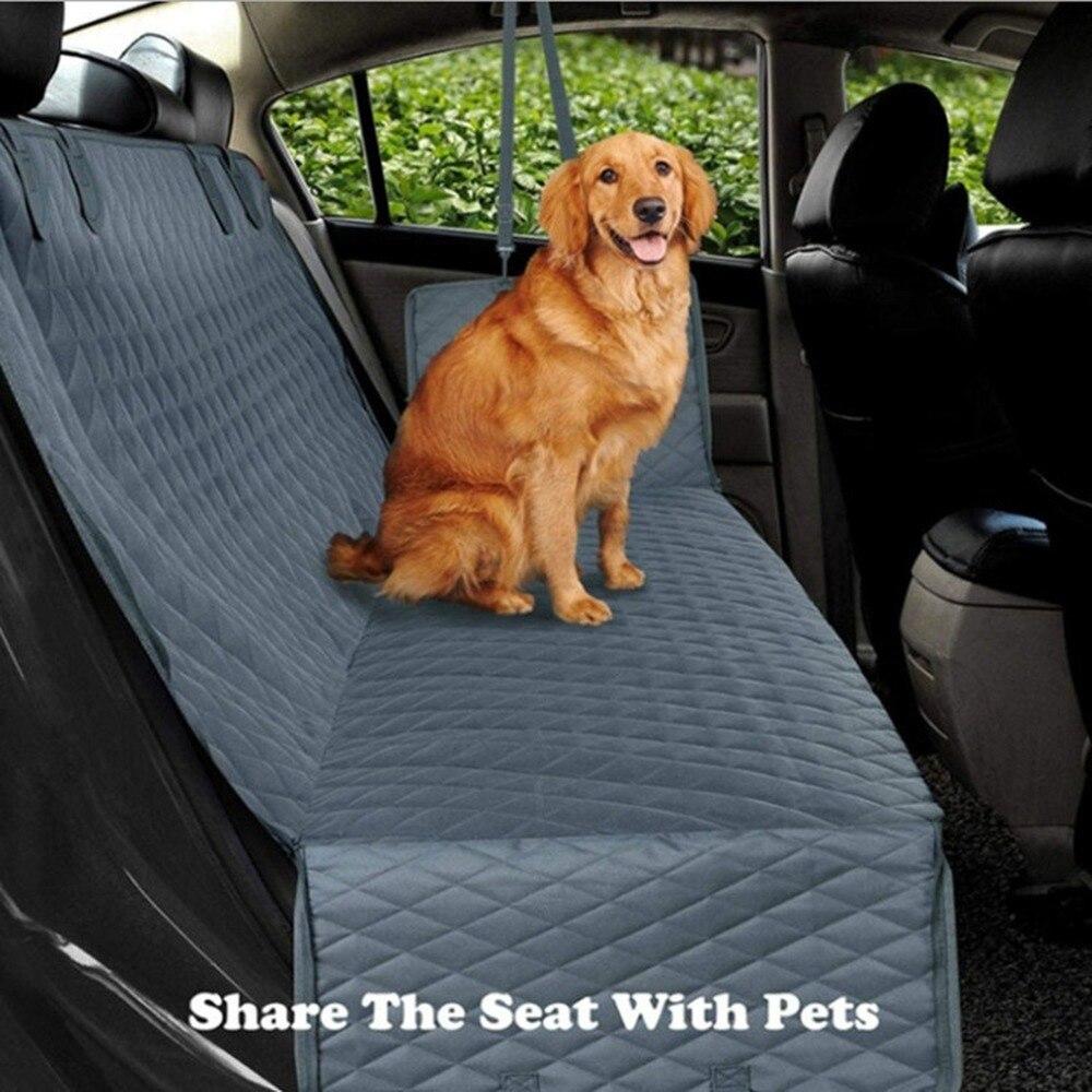 Assento do Carro Capa de Assento à Prova Portador do Cão Banco de trás do Rede para Cães Suprimentos do Cão Venda Quente Dwaterproof Água Carro Protetor Esteira Pequenos Grandes Cão