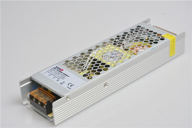 Sanpu emc 24v 300 ワット 12.5A低ノイズ出力 220v 230v 24VDCためAC-DCトランスsmpsファンレス 3Dプリンタスイッチング電源
