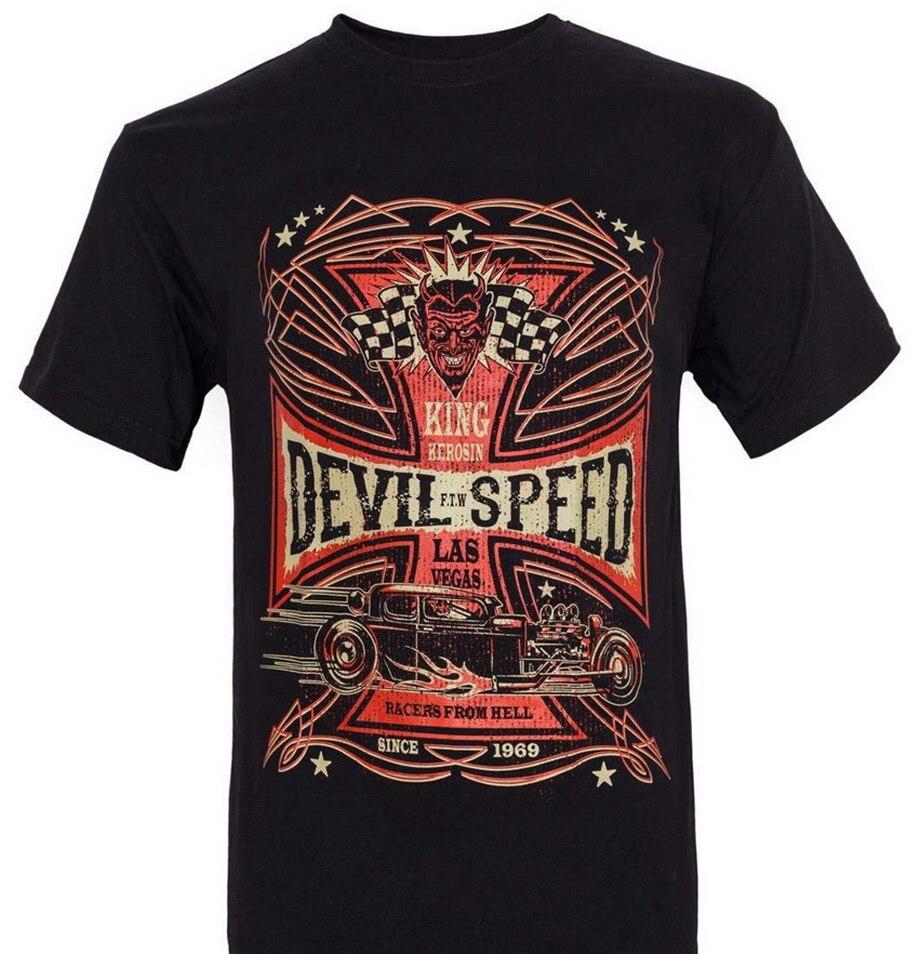 Camiseta King Kerosin para hombre, camiseta negra de diseño completo con descuento 100%, Camiseta de algodón para hombre