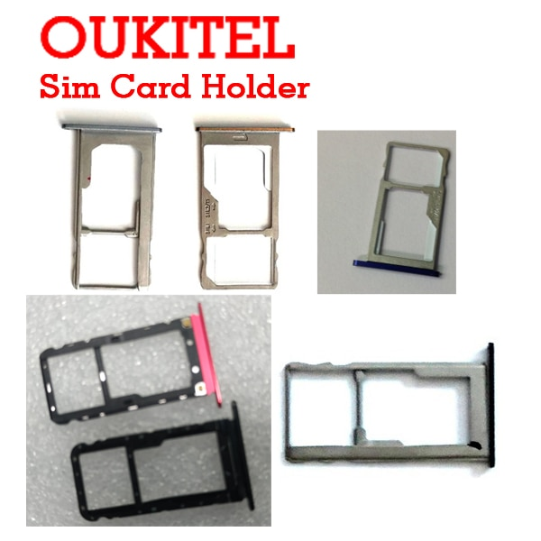 Oukitel K6000/K6000 PRO/K7000/K10000 Pro/K8000/K5/C8/WP5000 Sim Card Holder Tray Card Slot Repair Fixing Part Replacement Reader