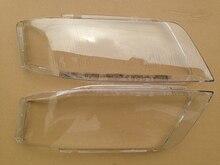 Couvercle de lentille transparente pour Audi A6   Couvercle de phare gauche et droit de voiture adapté à Audi A6 1999-2002 1 paire