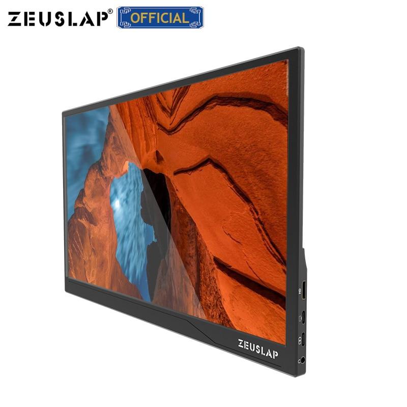 ZEUSLAP وصول جديد سامسونج 15.6 بوصة 1080p/اللمس usb c HDMI- متوافق ips شاشة المحمولة الألعاب كمبيوتر محمول lcd شاشة الكمبيوتر