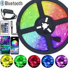 LED Strip Lights Flexible Ribbon RGB 5050 SMD2835 Waterproof Tape Diode 15M 20M DC12V Remote Bluetoo