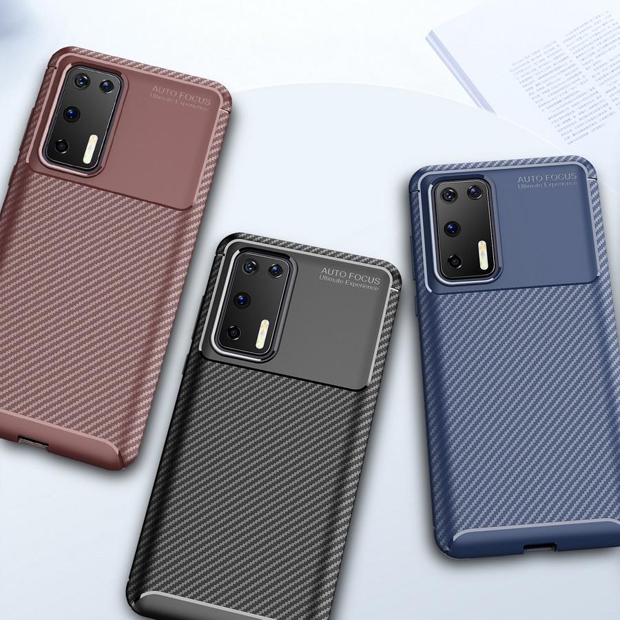Funda de teléfono de lujo para Huawei P30 Pro Fundas armadura de...