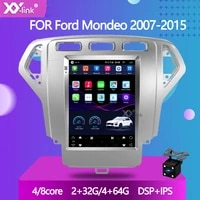 9 7tesla style touchscreen 64gb android 10 0 car radio stereo for ford mondeo 2007 2015 multimedia player gps navigation