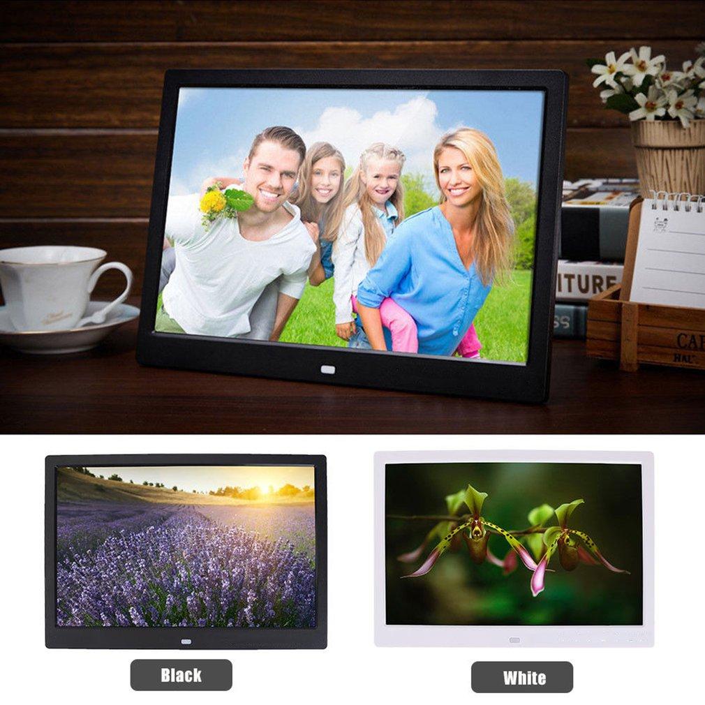 Stylish 17 inch LED screen touch button multi-language HD 1440 * 900 64G digital photo frame electronic photo album