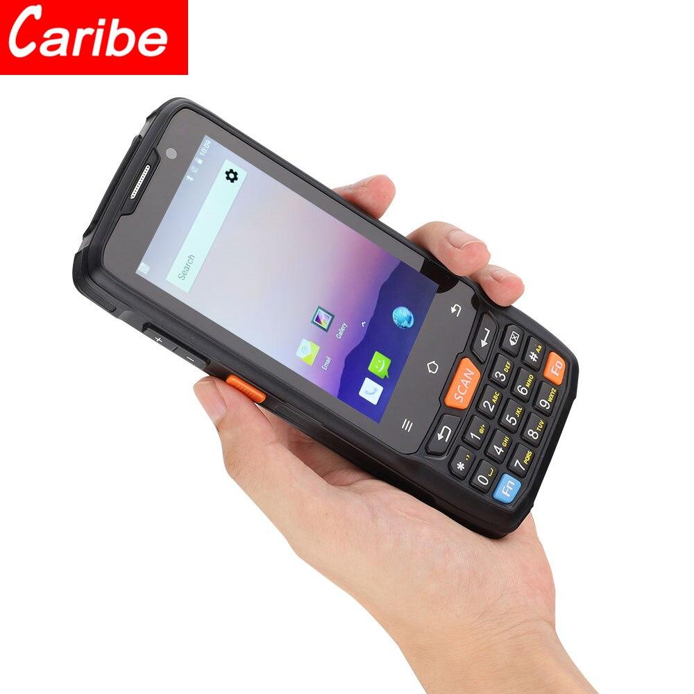 Caribe-ماسح ضوئي لاسلكي للرموز الشريطية ، 1D ، 2D ، مقاوم للماء ، ماسح ضوئي للباركود ، للصناعات
