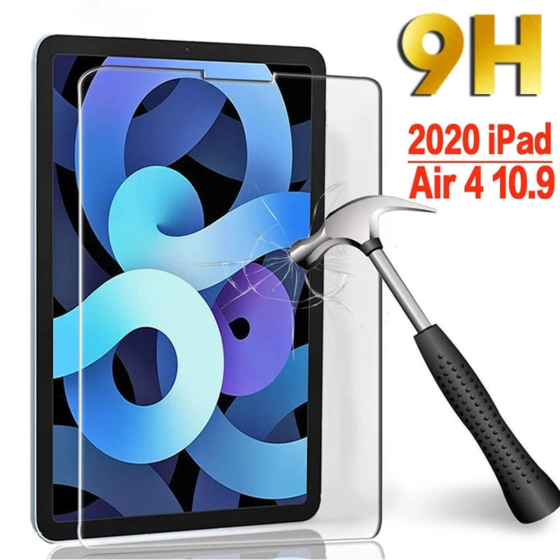 Защитная пленка для iPad Air 2020, 10,9 дюйма, 4 поколения, закаленное стекло для iPad Air 4, A2324, A2072, защитная пленка для iPad 10,9