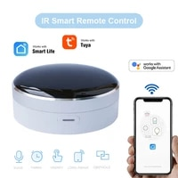Tuya App telecommande universelle a domicile intelligente IR WiFi   Hub de controle a domicile infrarouge 360 degres pour lassistant Google Alexa Siri