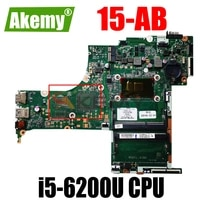 for hp pavilion 15 ab laptop motherboard 830597 601 830597 501 830597 001 with i5 6200u dax1bdmb6f0 100 fully tested