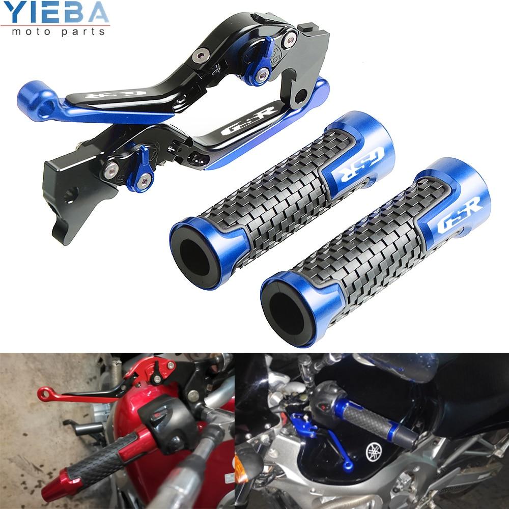 Barra de palanca de embrague plegable extensible con frenos ajustables para motocicleta SUZUKI GSR600 GSR 600 2006 2007 2008 2009 2010 2011