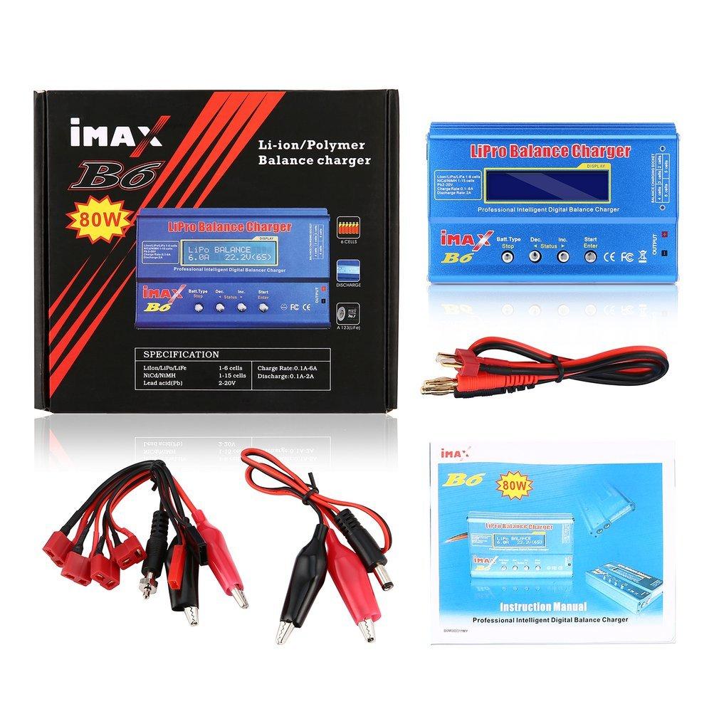 IMAX B6 الرقمية RC يبو نيمه بطارية شاحن ميزان التيار المتناوب محول 12 فولت 5A للمركبات التحكم عن بعد اللعب طائرات هليكوبتر