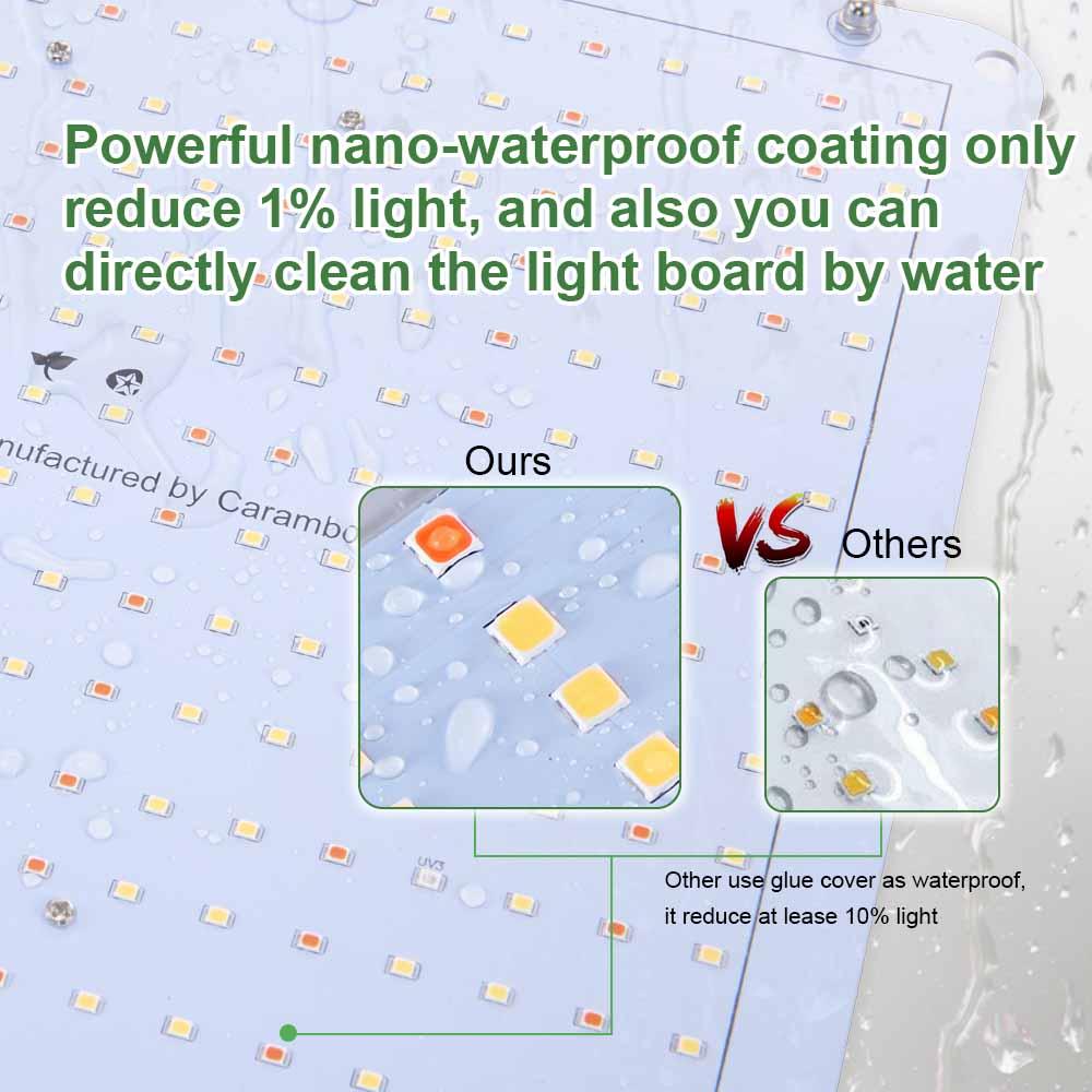 Carambola 3000W LED Full Spectrum Grow Light Bloom Switch Hydroponic Plants Waterproof Lamp 3500k White Light Indoor Lighting enlarge