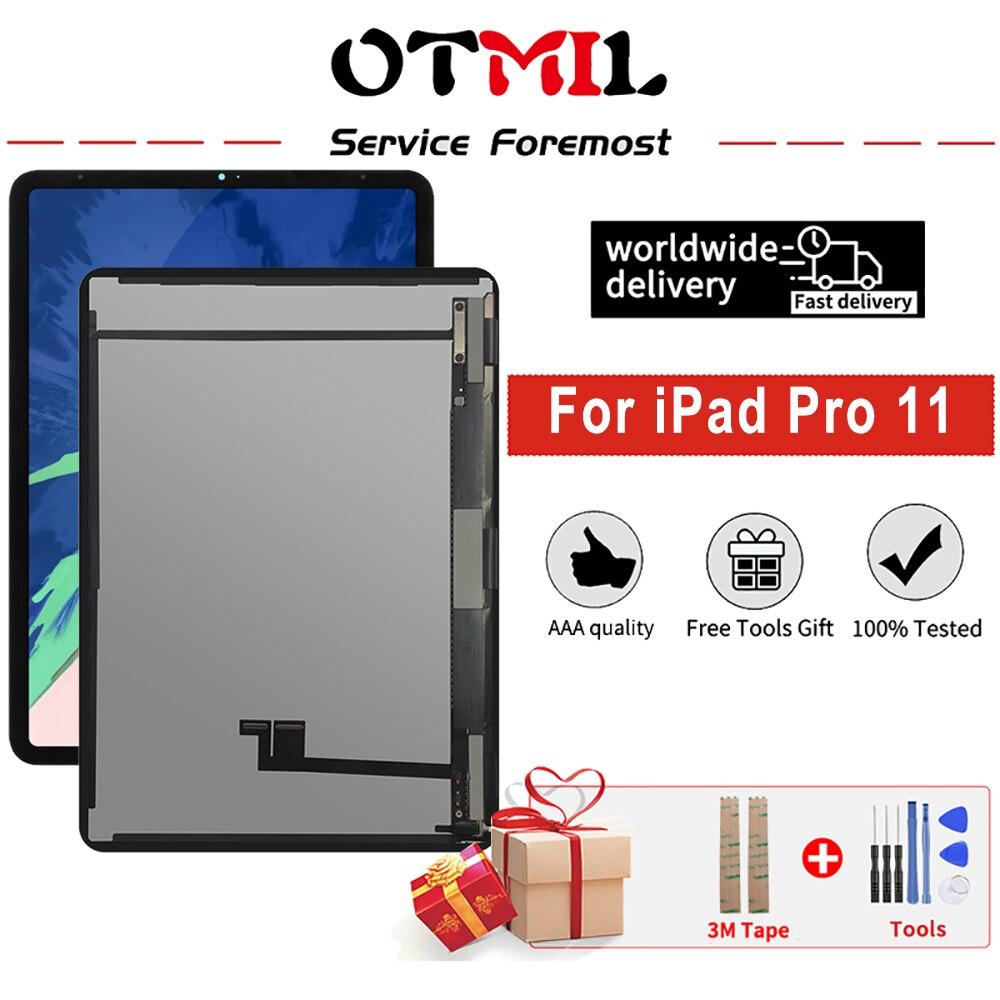 الأصلي ل أبل باد برو 11 1nd 2nd A1980 A1934 A1979 LCD عرض تعمل باللمس لوحة شاشة الجمعية استبدال جزء