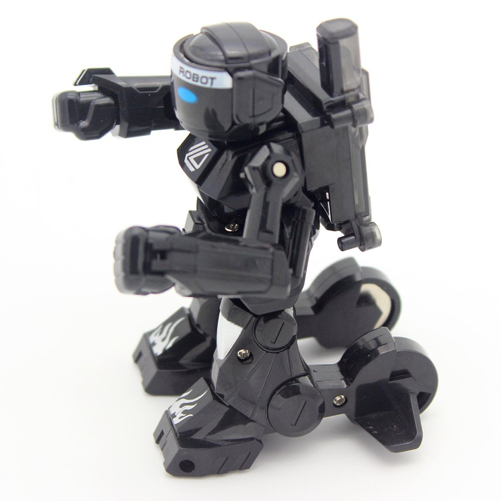 2.4G Body Sense Battle remote control robot RC intelligent robot Combat Toys For Kids Gift Toy With Box Light And Sound Boxer enlarge