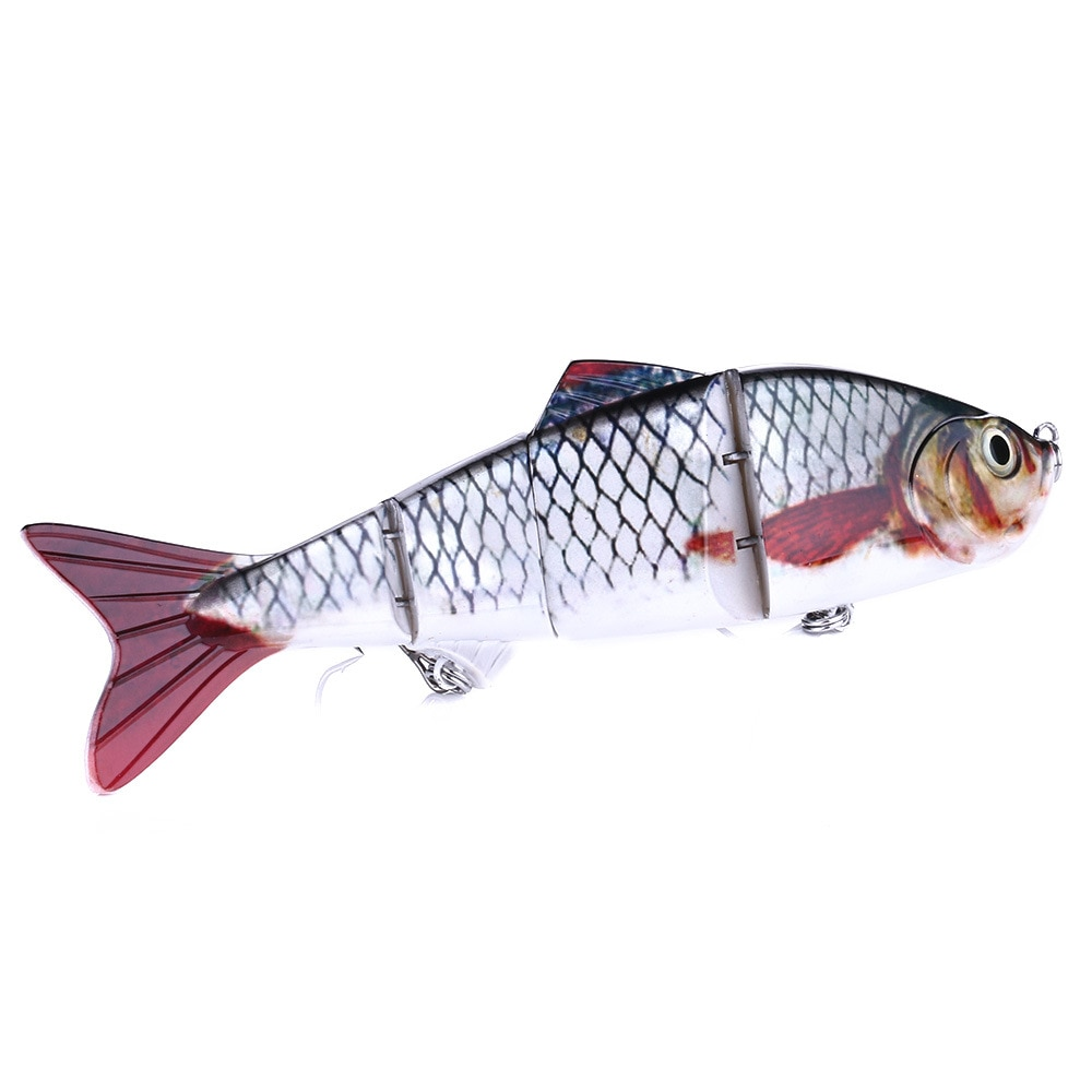 25cm 146g Sinking Wobblers Fishing Lure Wobbler Multi Jointed Swimbait 4Segment Hard Bait Carp Casting Bass Pike Lure Tackle enlarge