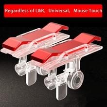 2 pièces/lot E9 jeu de téléphone portable bouton de feu contrôleur et Joystick jeu de survie poignée R1L1 déclencheurs pour couteaux Out/PUBG/règles