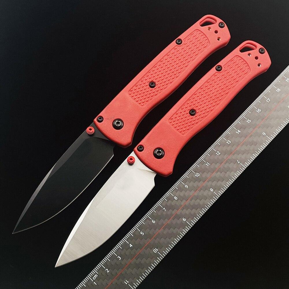 IOMG BM535 535BK Bugout оси складной нож 3,24 S30V нейлоновая ручка на открытом воздухе, для кемпинга, охоты, карманный, для повседневного использования, и...