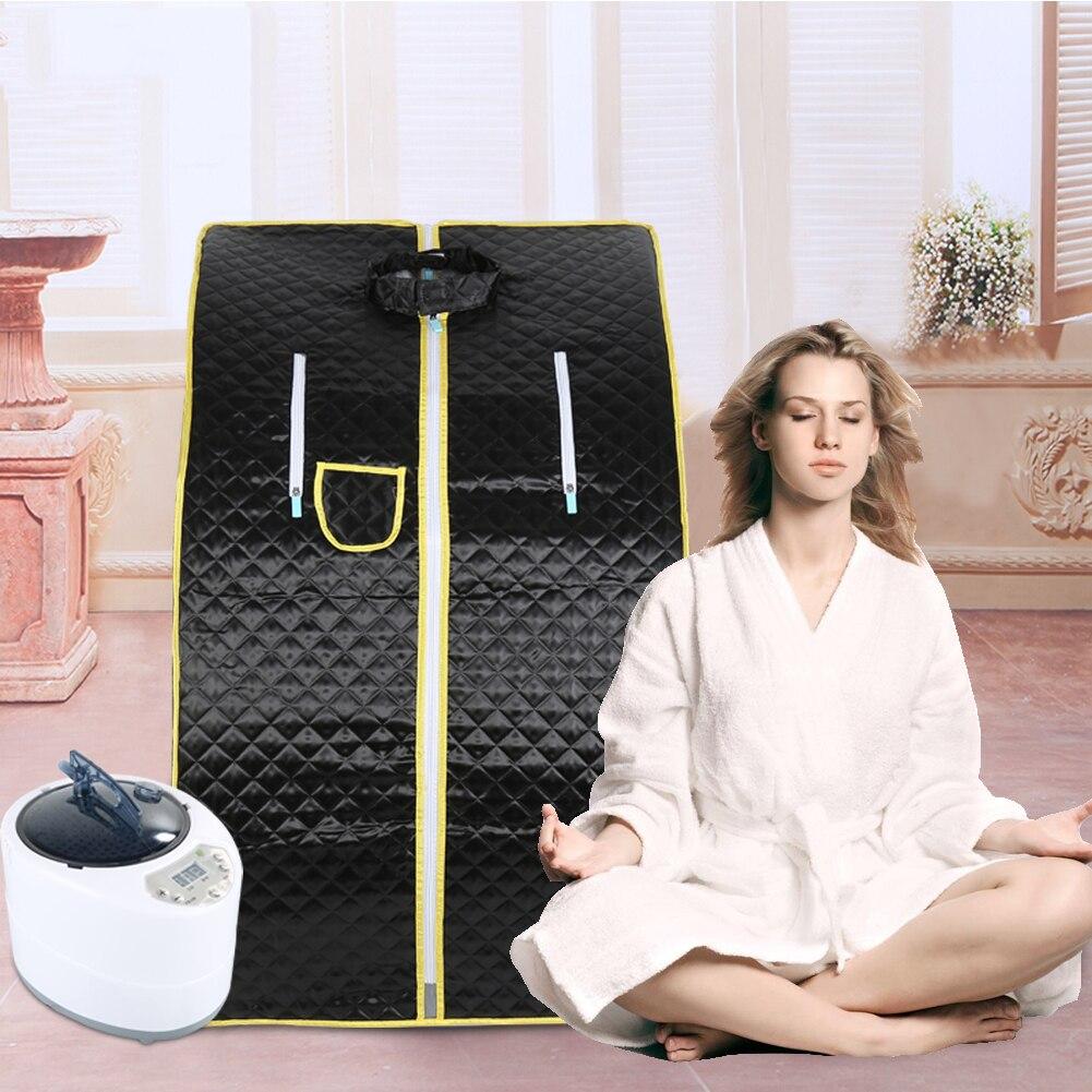Sauna a vapor terapia portátil spa corpo inteiro magro desintoxicação perda de peso interior chuveiro acessórios sauna banho de vapor hwc