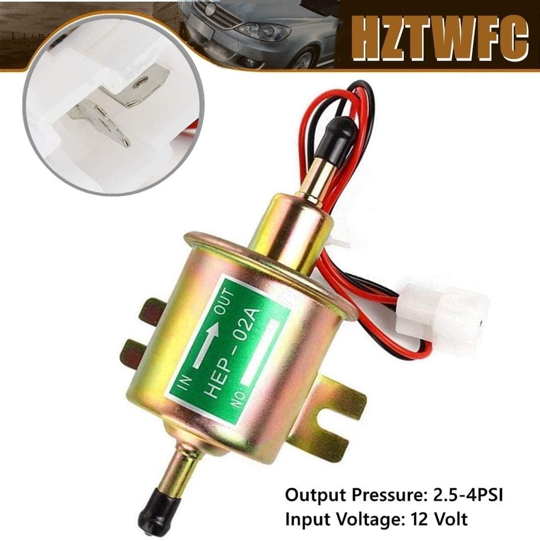 Pompe à carburant électrique 12V, haute qualité, basse pression, universelle, Diesel, essence, pour carburateur, pièces de moto, ATV, HEP02A
