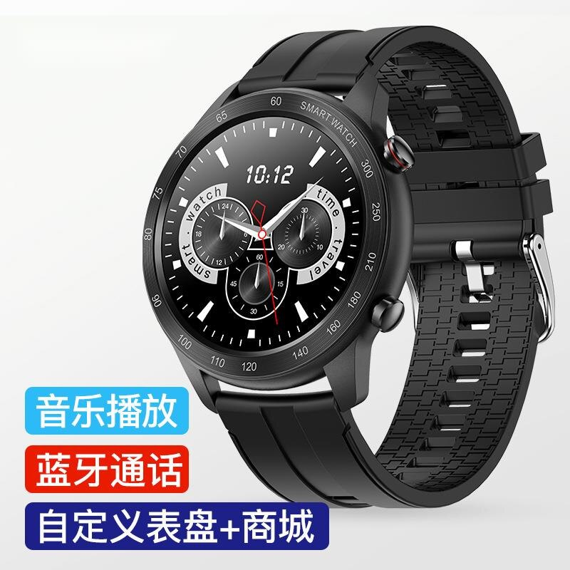 New mx5 Bluetooth call full circle full touch heart rate blood oxygen sleep custom dial sports smart watch ring