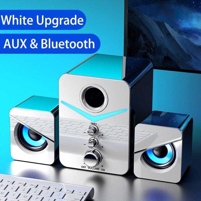 Sistema De cine en casa para PC, altavoz De graves con Bluetooth,...
