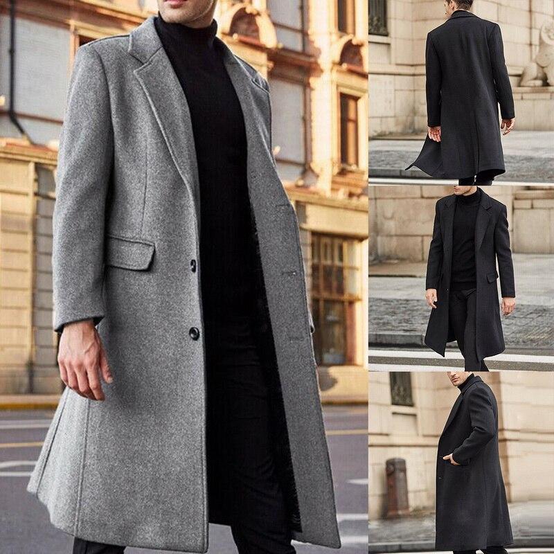 معاطف شتوية من الصوف للرجال ، معاطف بأكمام طويلة ، معاطف صوف للرجال ، ملابس الشارع ، أزياء طويلة ، ملابس رسمية ، 2021