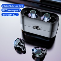 TWS-наушники i31 с поддержкой Bluetooth и зарядным устройством на 3000 мА · ч