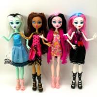 4 шт./лот, новые стильные куклы monster fun high, монстр Дракулаура, подвижный шарнир, лучший подарок для детей, оптовая продажа, модные куклы