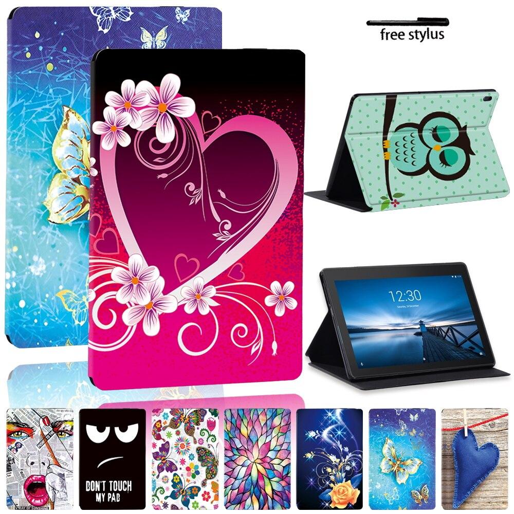 For Lenovo Tab M10 Plus TB-X606F/TB-X606X/Tab E10 10.1 TB-X104F TB-X104L/Tab M10 10.1 TB-X605F Shockproof Tablet Case Cover