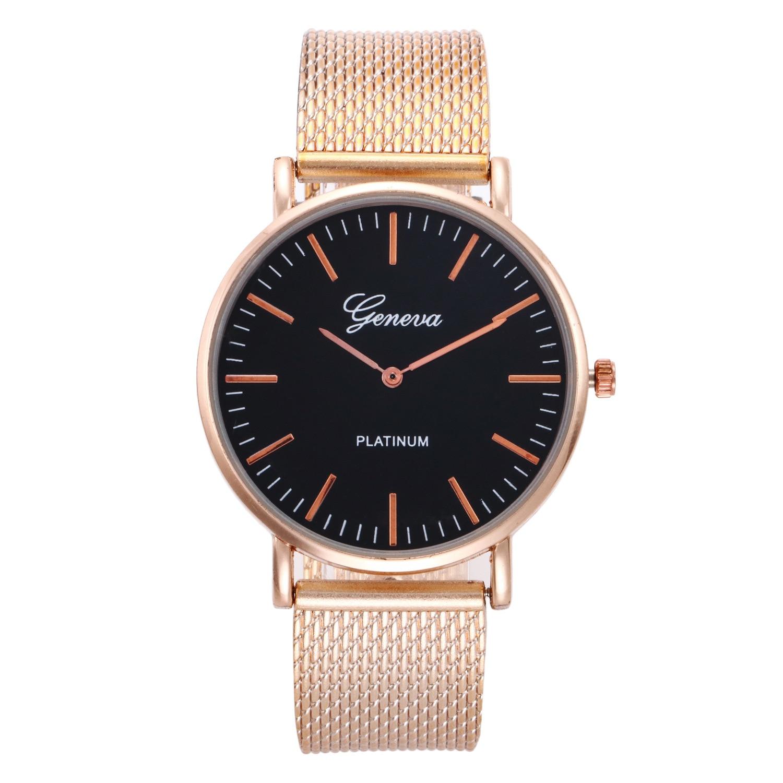 Fashion Rose Gold Creative Marble Female Wrist Watch Luxury Women Quartz Watches Gifts