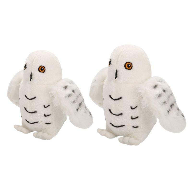 1 pieza 20/25cm Blancanieves búho de peluche de juguete bebé simulación Animal modelo juguetes de calidad superior Adorable relleno regalos de animales chico niños y adultos