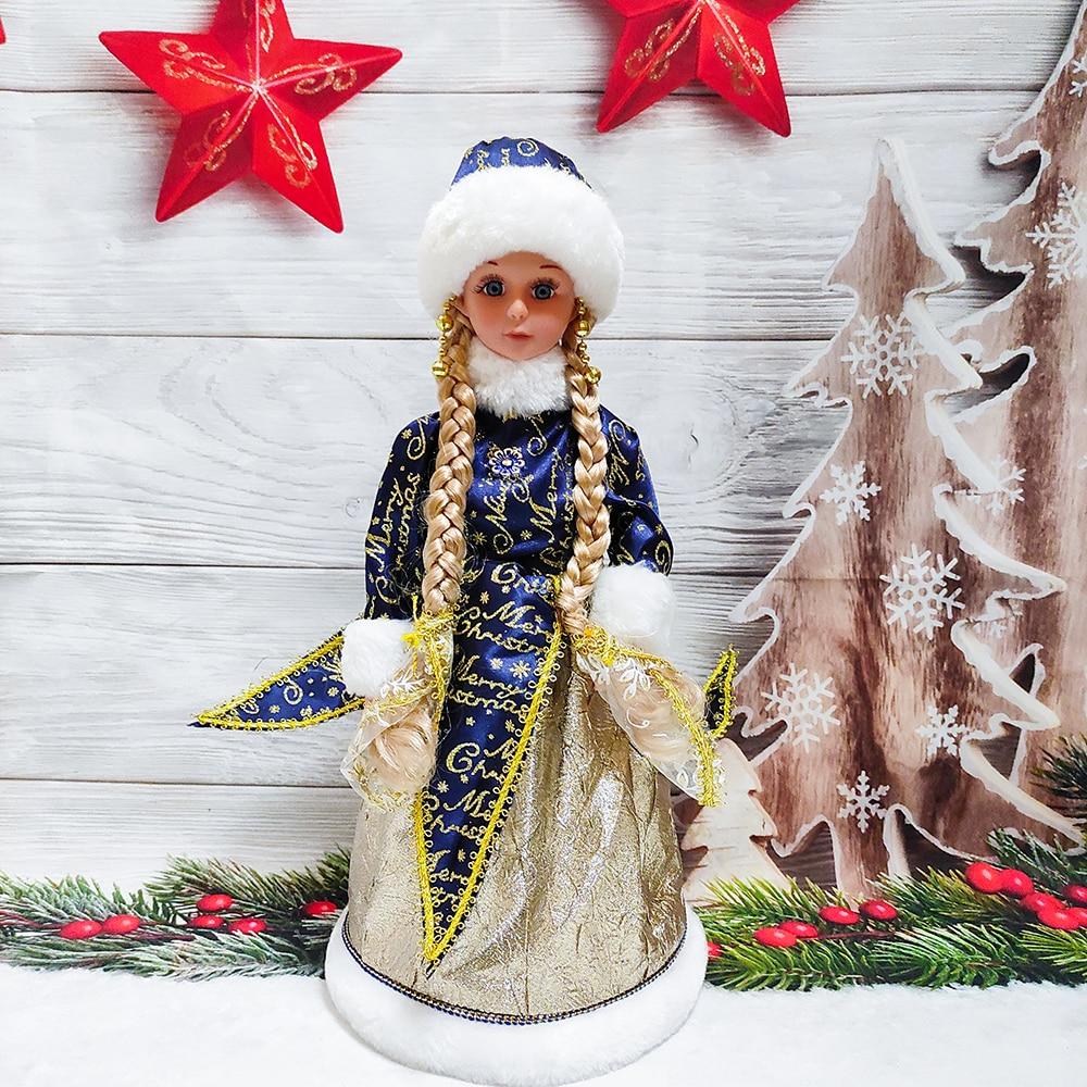 Hermosa chica eléctrica muñecas Candy cubo caja con juguete de peluche musical...