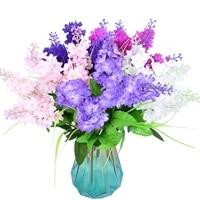 37cm hyacinth violet flower artificial flowers bridal floral hotel wedding garden decor home table accessorie plant 1pc