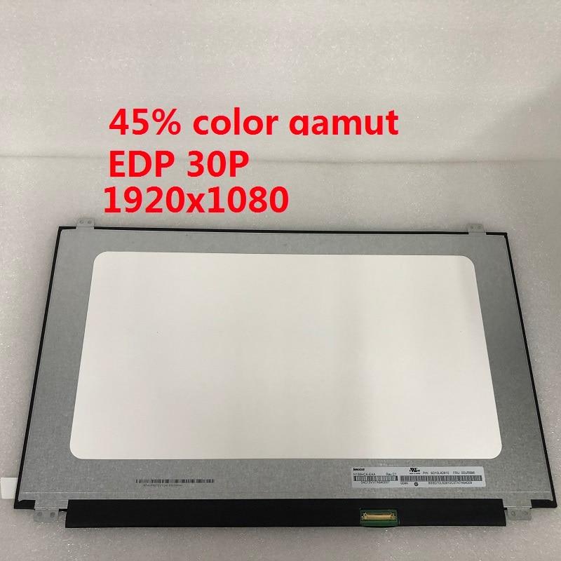 Pantalla LCD de 15,6 pulgadas N156HCA-EAA 1920X1080 EDP 30P notebook pantalla LCD