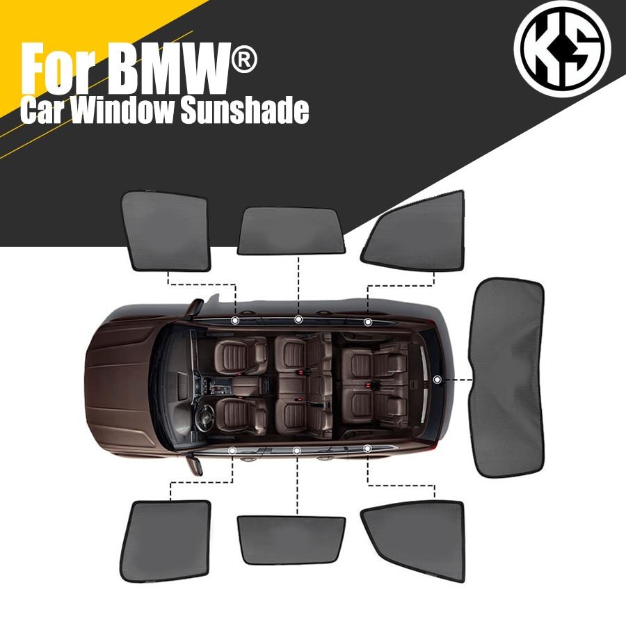 Магнитные боковые автомобильные солнцезащитные козырьки на заказ для BMW 1 3 серии 5 серии 7 X1 X3 X4 X5 X6, оконные шторы, солнцезащитные козырьки, л...