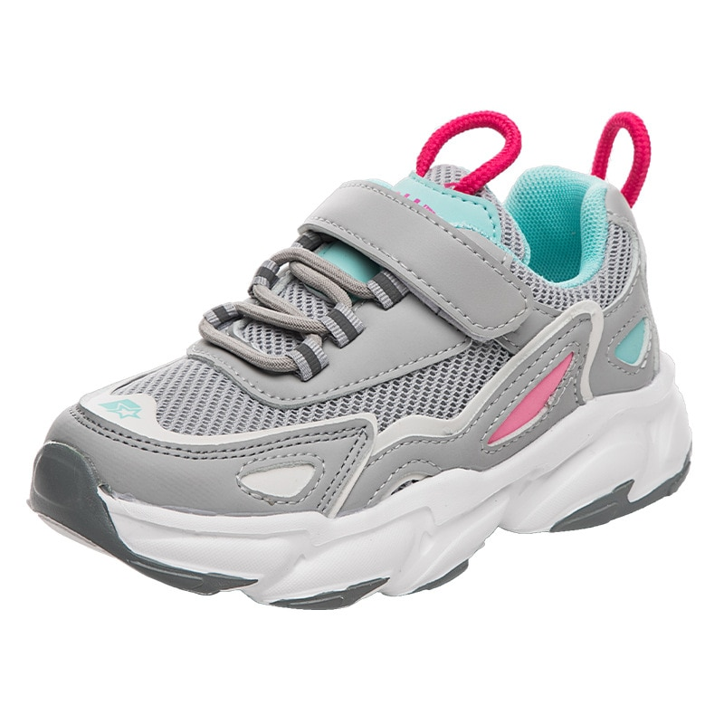Girls Sports Shoes 2021 Spring New Childrens Daddy Boys and Autumn Breathable Casual