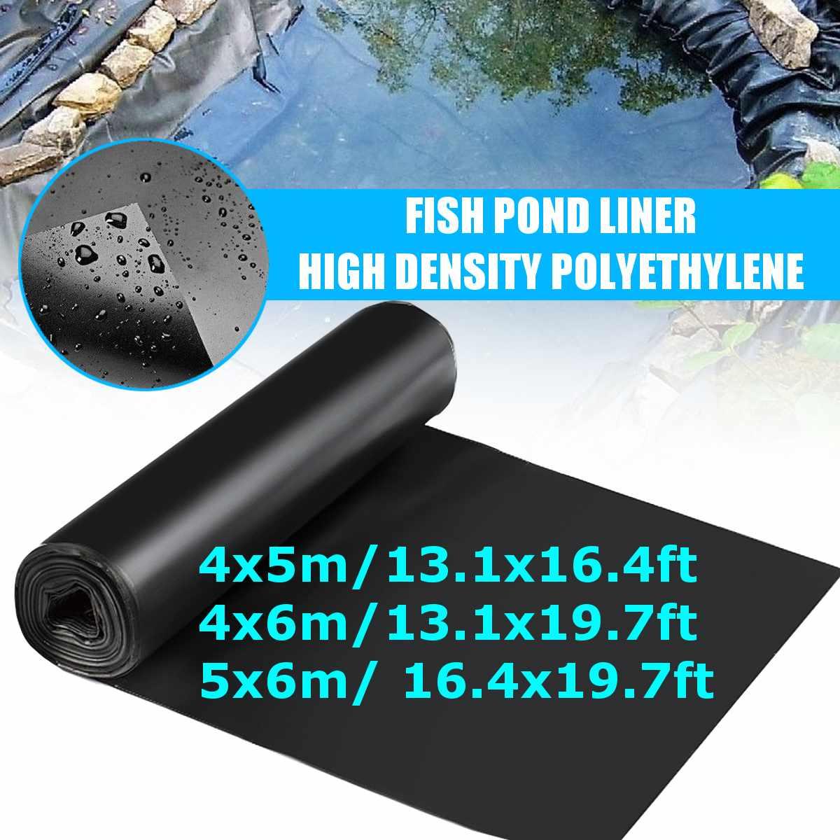 4x 5/4x 6/5x 6EPDM/HDPE السمك بركة بطانة المناظر الطبيعية مقاوم للماء غشاء كتيمة حمامات غطاء بركة بطانة رشاقته الثقيلة بطانة
