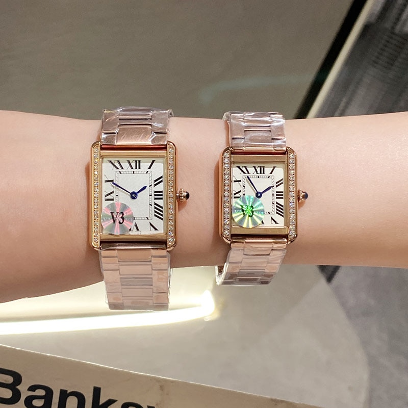 Women Watchwrist Top Brand C Luxury Fashion Stainless Steel Ladies Quartz Roman Refinement High quality For Couple Gift Watches enlarge