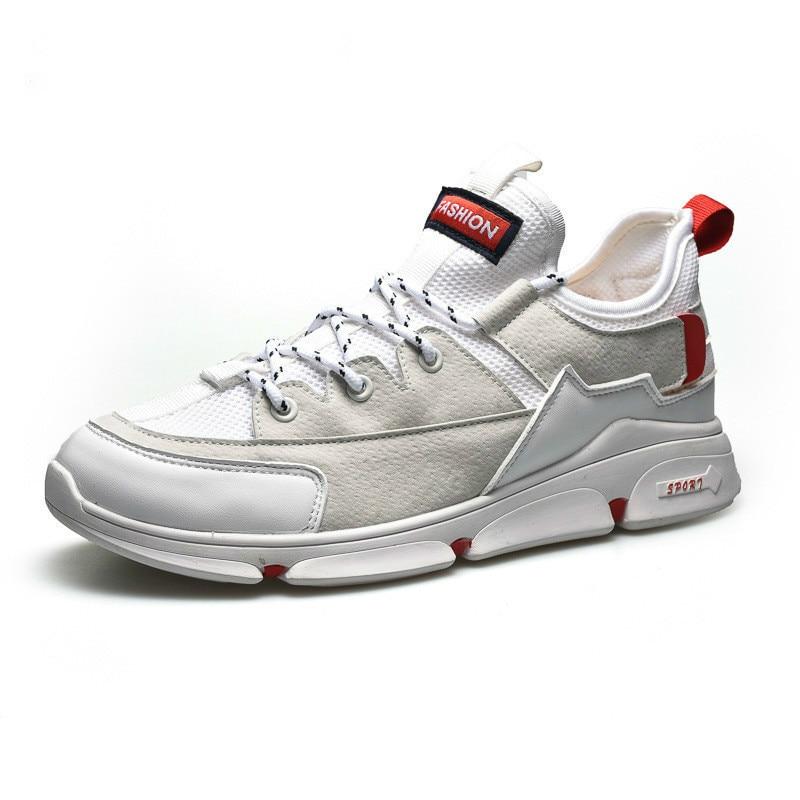 QWEDF ヒップホップシューズメンズカジュアルシューズ通気性スニーカー男靴 Tenis Masculino 靴 Zapatos やつ Sapatos 屋外靴 DP-33