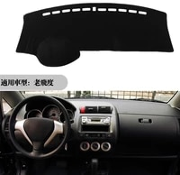 for honda fit jazz 2004 2007 dashboard cover mat dash pad anti uv sun shade auto instrument cover carpet car styling accessories