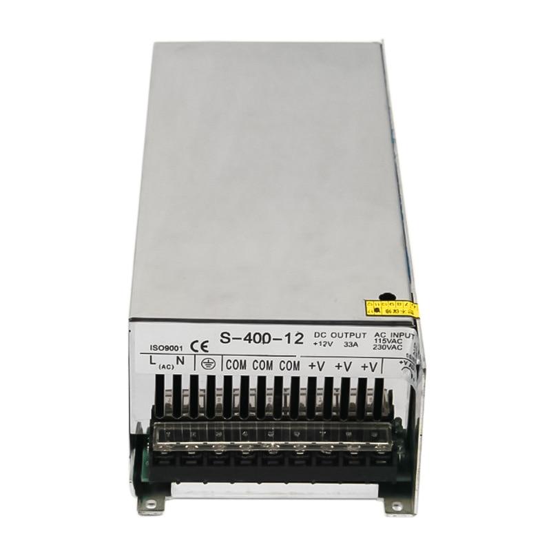 Fuente de alimentación de conmutación de salida única de 400W 12V 33A para LED SMPS AC a DC