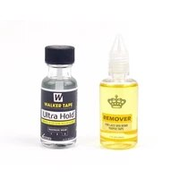 ultra hold liquid bond with 1oz remover hair system adhesive brush on lace wig silicone glue for wigstoupeeclosure 0 5oz