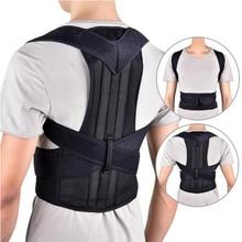 3XL Plus Size Adjustable Posture Corrector Magnetic Brace Shoulder Back Support Belt Men Women Body Shaper Shapewear Unisex