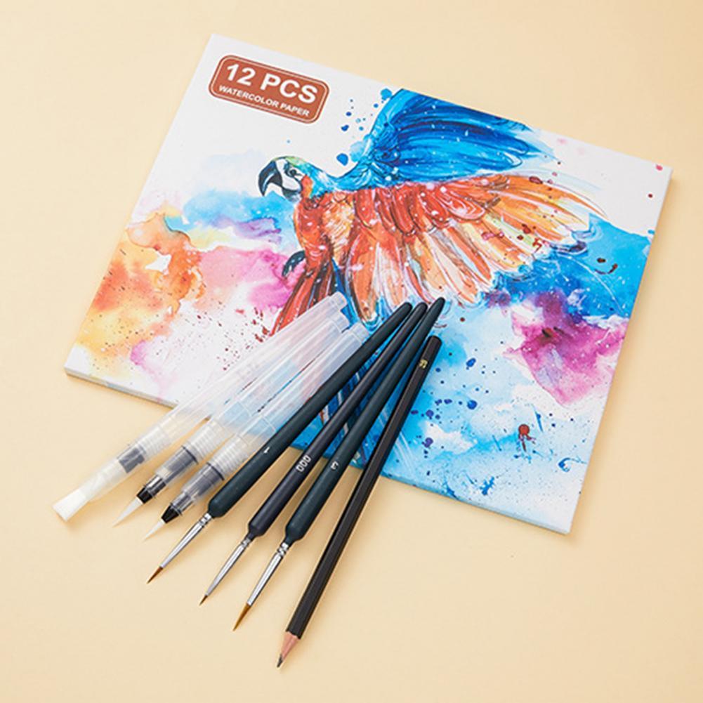 120 Colour High Pigment Load Watercolor Paint Acid Free Plastic Intermixable Travel Solid Watercolor Paints Kit Paint Supplies enlarge