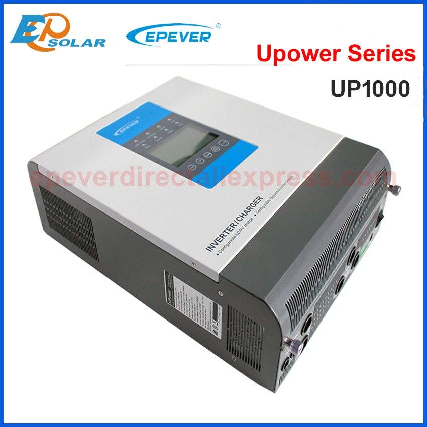 EPever UPower العاكس UP1000 مع 30A MPPT الشمسية شاحن تحكم و 20A فائدة شاحن 12v 24v إلى 220v 230v UP1000-M3212