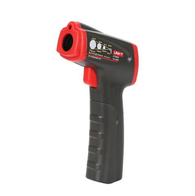 UNI-T ut300s termômetro infravermelho//℉, opções de faixa de temperatura -32 °c ~ 400 °c, display duplo, indicação de bateria fraca.